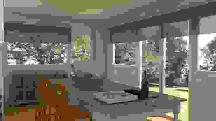 Dapur: Ide desain interior, inspirasi & gambar Oleh Tatiana Doria, Diseño de interiores