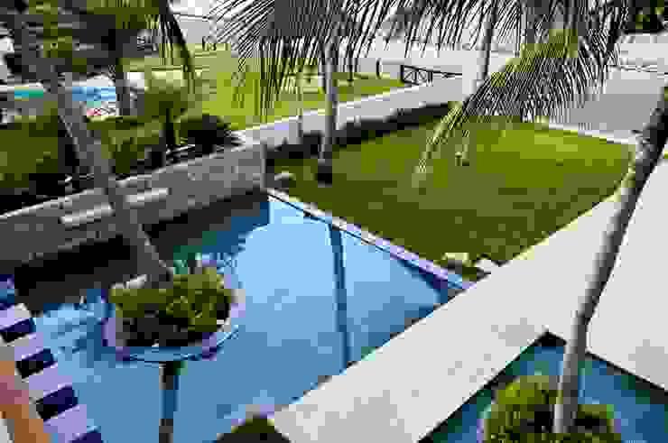 Paredes y pisos de estilo tropical de homify Tropical