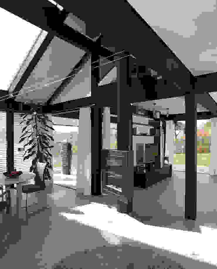 Traum-Alterswohnsitz im Westerwald Moderne Wohnzimmer von DAVINCI HAUS GmbH & Co. KG Modern