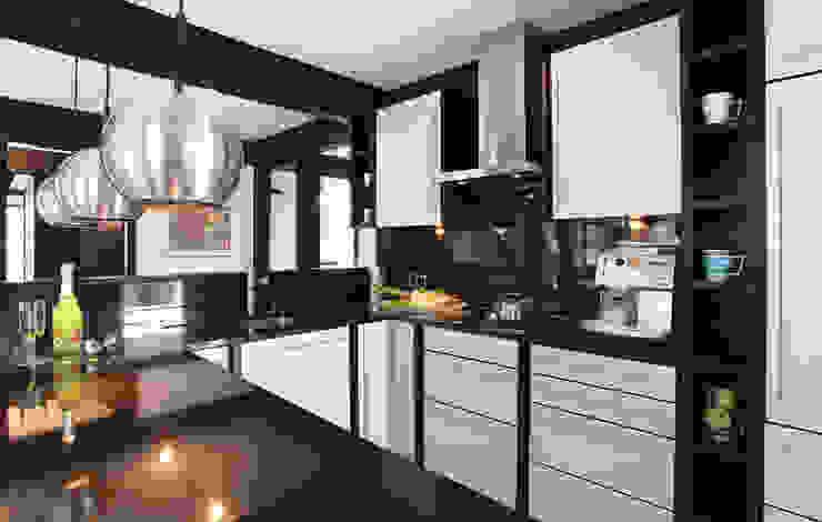 Traum-Alterswohnsitz im Westerwald Moderne Küchen von DAVINCI HAUS GmbH & Co. KG Modern