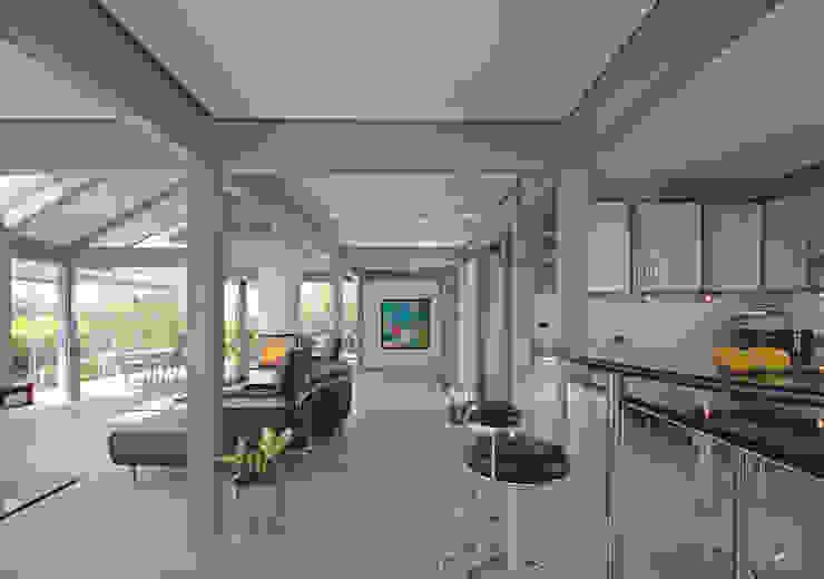 Кухня в стиле модерн от DAVINCI HAUS GmbH & Co. KG Модерн