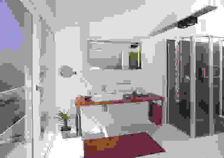 クラシックスタイルの お風呂・バスルーム の DAVINCI HAUS GmbH & Co. KG クラシック