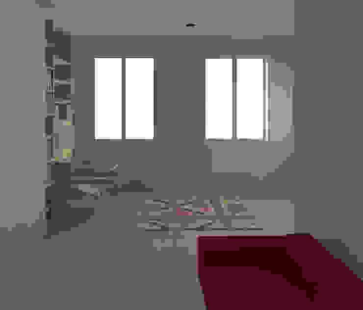 Habitaciones para niños de estilo moderno de Agence KP Moderno Lino Rosa