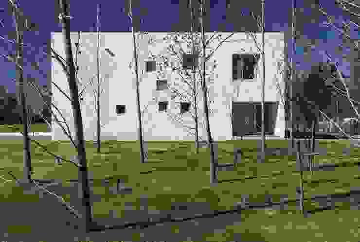 CASA AG Casas minimalistas de estudio aire Minimalista