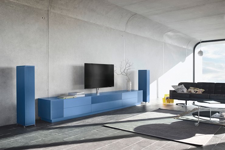 Living room by Zimmermanns Kreatives Wohnen