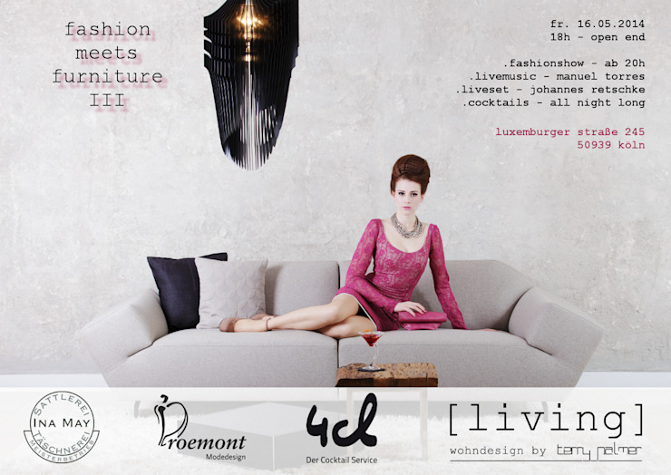 fashion meets furniture III von [living] wohndesign by Terry Palmer