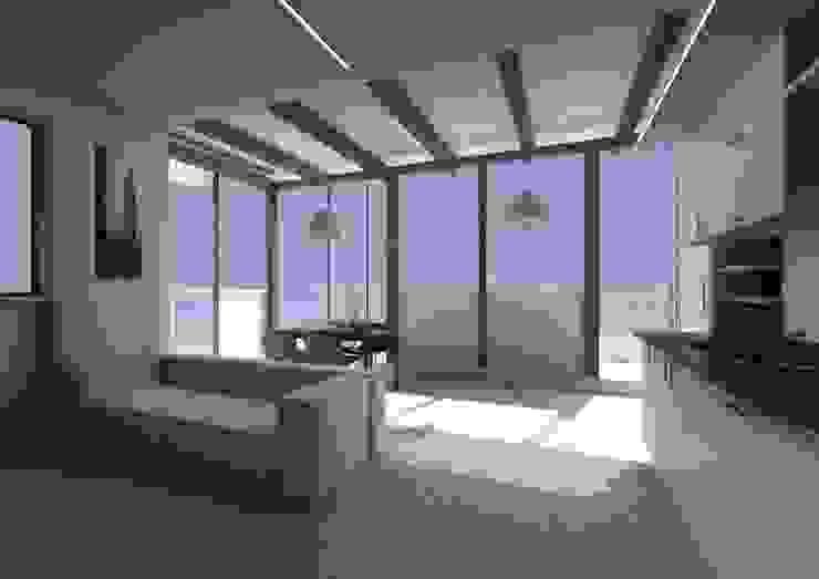 Casa SC - living room Soggiorno moderno di Wanda Loizzo Architect Moderno