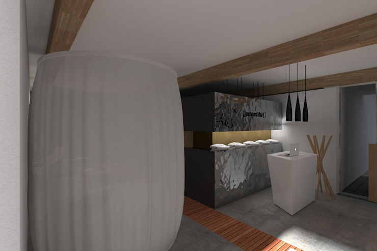 Moderne woonkamers van LAB255 Modern