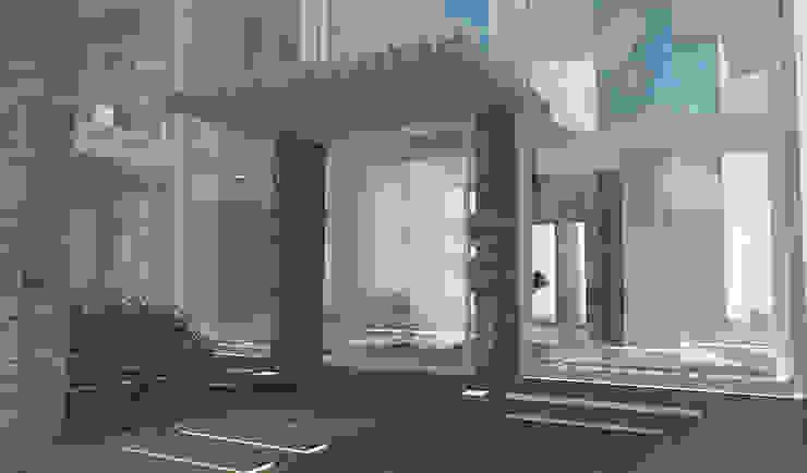 Residenza Privata in New Delhi Case moderne di Barbara Pizzi Moderno