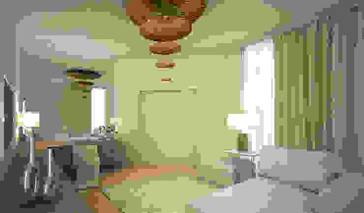 Residenza Privata in New Delhi Camera da letto moderna di Barbara Pizzi Moderno