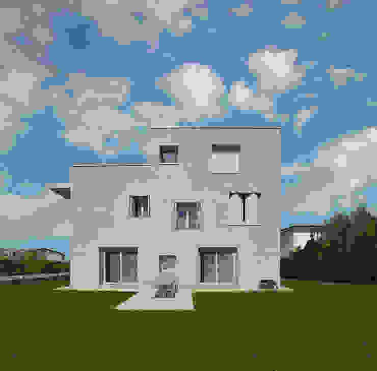 CASA UNIFAMILIARE di michele gambato architetto, mgark Moderno