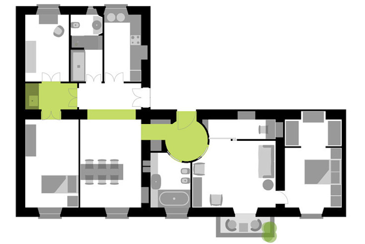 casa privata Case moderne di Lucarelli Rapisarda Architettura & Design Moderno