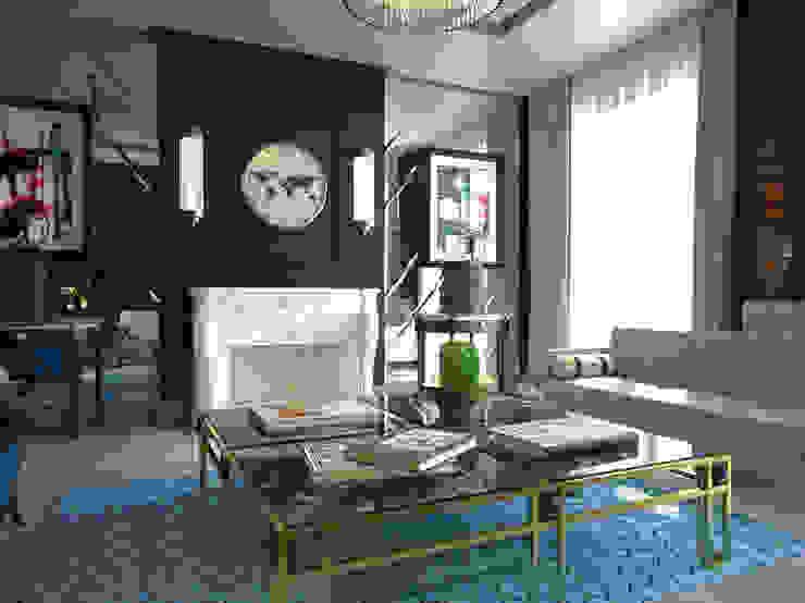 Moderne woonkamers van diegoLADINO Modern