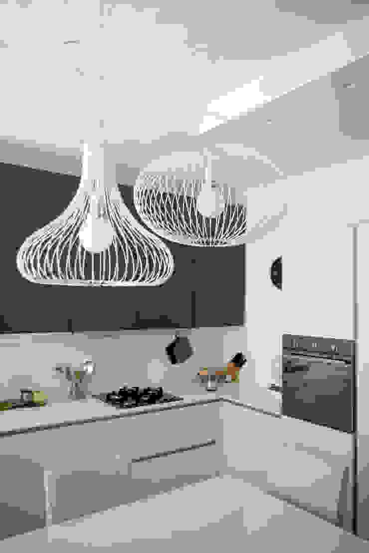 Cocinas de estilo moderno de msplus architettura Moderno