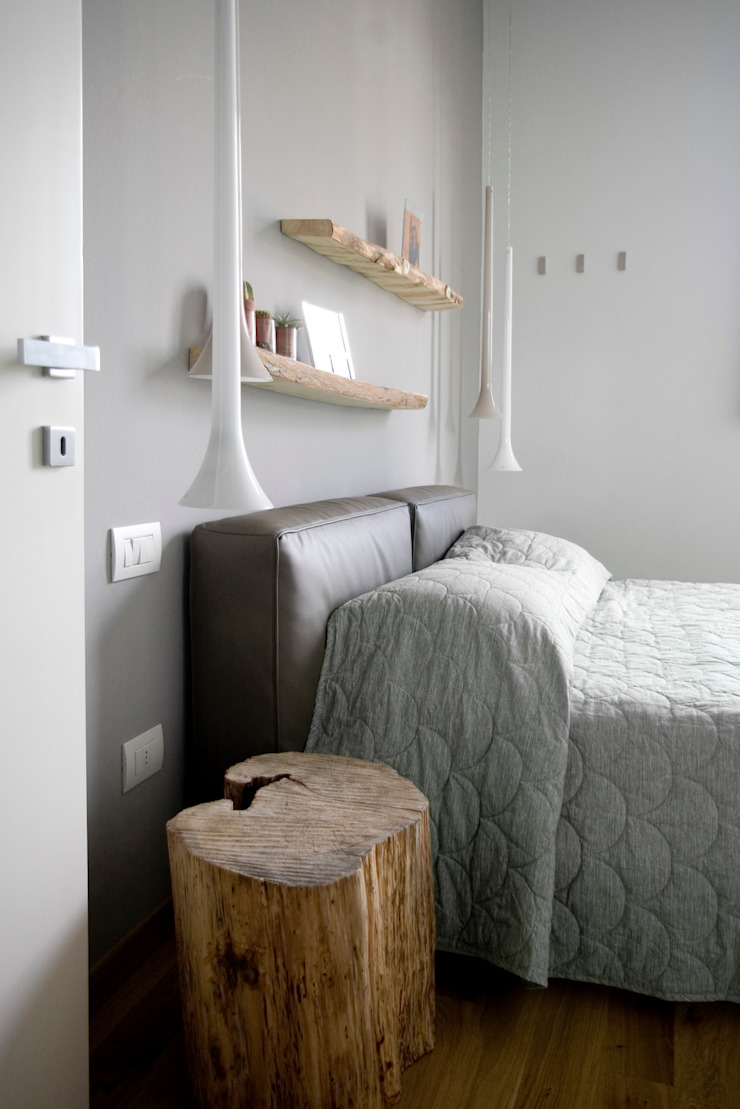 Dormitorios de estilo moderno de msplus architettura Moderno