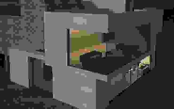 Mongolian Dream House Case moderne di CAFElab studio Moderno
