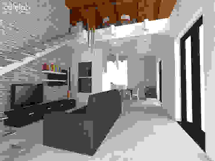 Casa colle di fuori Case in stile mediterraneo di CAFElab studio Mediterraneo
