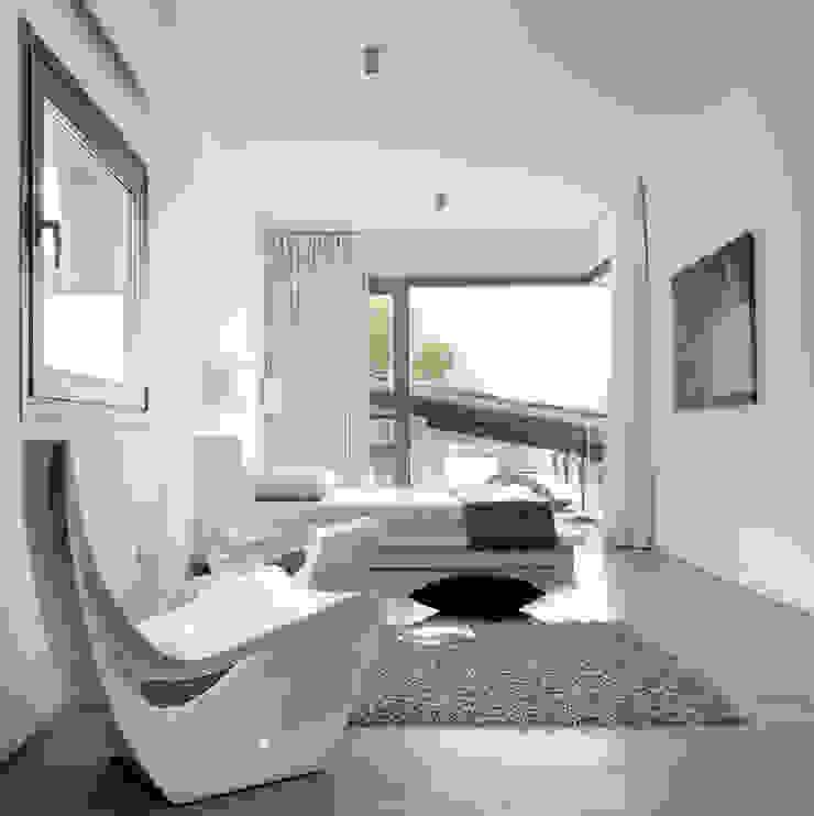 House at Andratx 根據 Octavio Mestre Arquitectos 簡約風