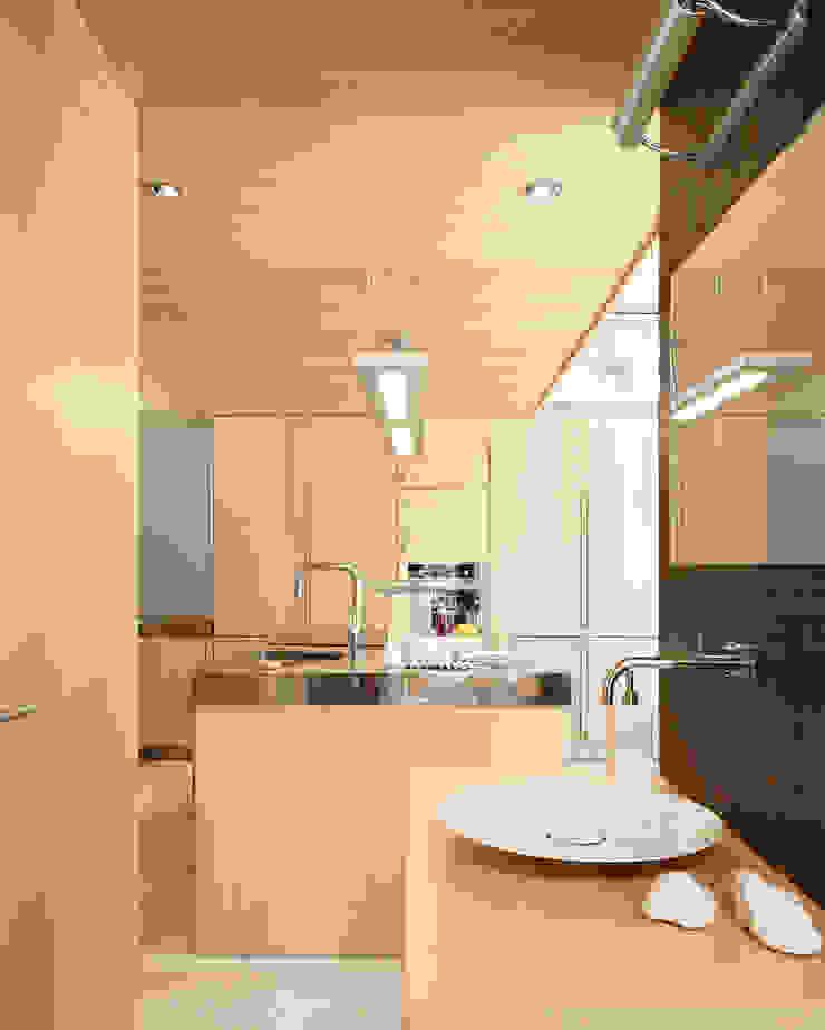 House at Tamariu Cocinas de Octavio Mestre Arquitectos