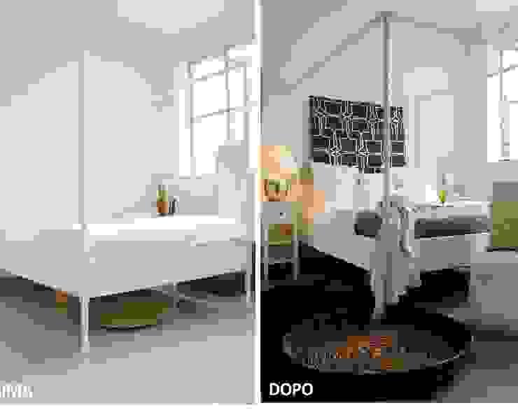 Allestimenti di home staging Camera da letto, Camera da letto in stile classico di Karisma Home Staging Classico