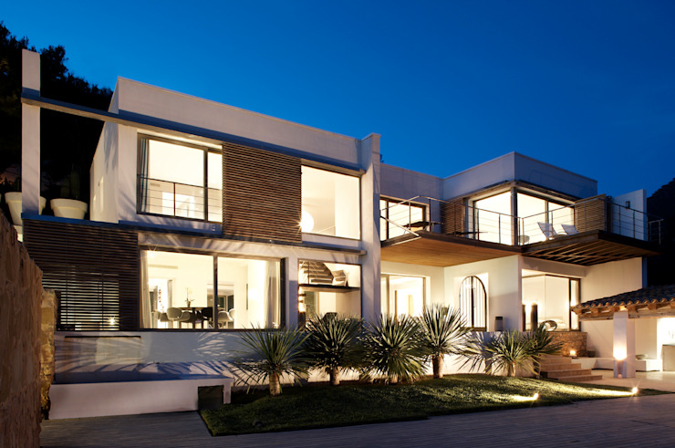 House at Andratx Minimalist house by Octavio Mestre Arquitectos Minimalist