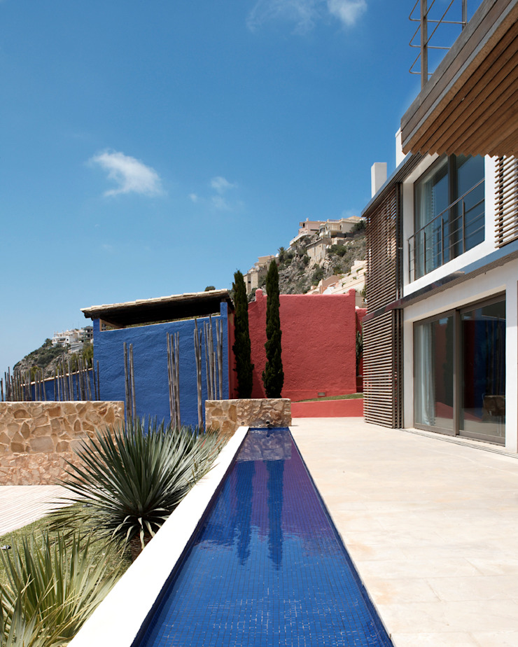 Casa en Andratx Piscinas de estilo minimalista de Octavio Mestre Arquitectos Minimalista