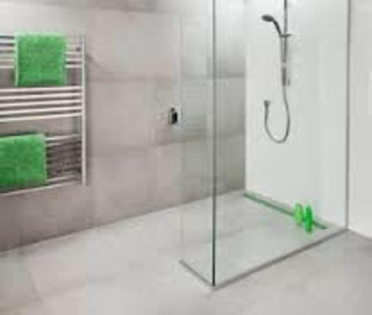 Wetroom Shower Areas nassboards Kamar Mandi Minimalis