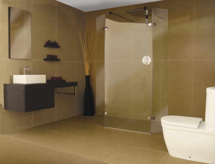 Wetroom Shower Areas nassboards Kamar Mandi Gaya Asia