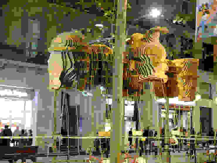 BARCELONA SHOPPING NIGHT Diseño de ferias de EXTERNAL REFERENCE ARCHITECTS