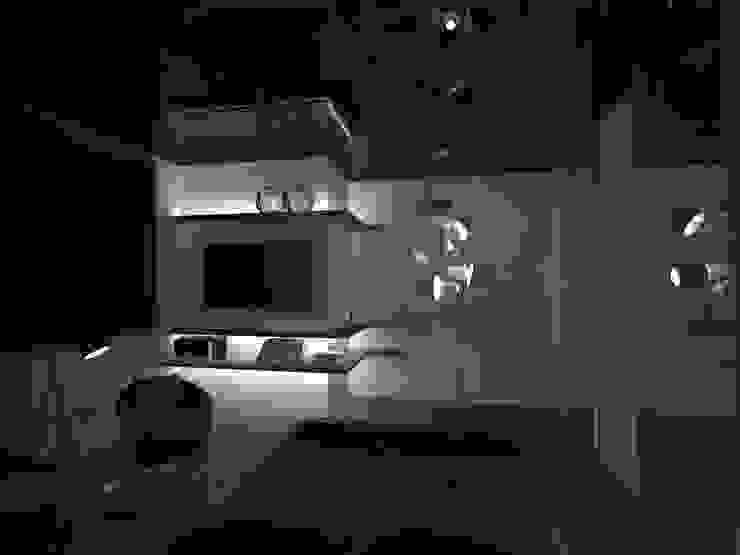 Salas de estar modernas por labzona Moderno