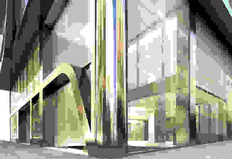 Oficinas Travessera de Gràcia Oficinas y tiendas de estilo moderno de Octavio Mestre Arquitectos Moderno