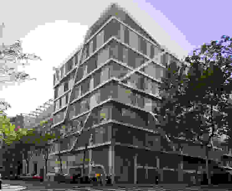 Offices at Travessera de Gràcia Modern offices & stores by Octavio Mestre Arquitectos Modern
