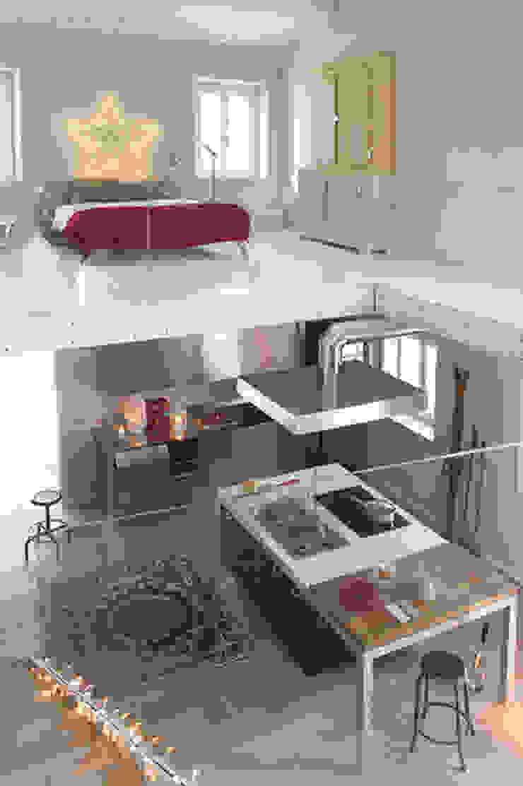 Residenza estiva Cucina di archiplanstudio