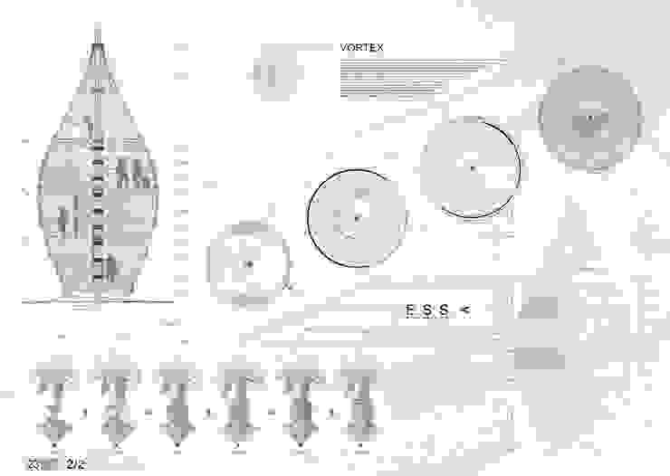 Casas de estilo ecléctico de Bæst Ecléctico