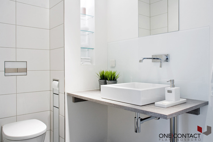 Bathroom by ONE!CONTACT - Planungsbüro GmbH, Modern