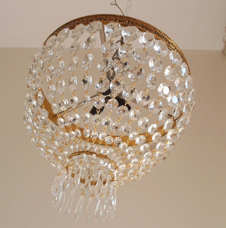 Empire style ceiling lamp di Milan Chic Chandeliers Classico