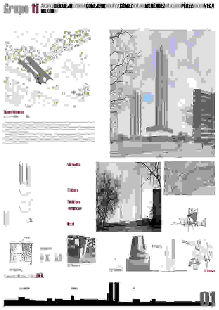Lámina 1 Casas de estilo moderno de David Menéndez Ferreras Moderno