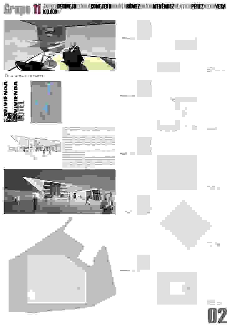 Lámina 2 Casas de estilo moderno de David Menéndez Ferreras Moderno
