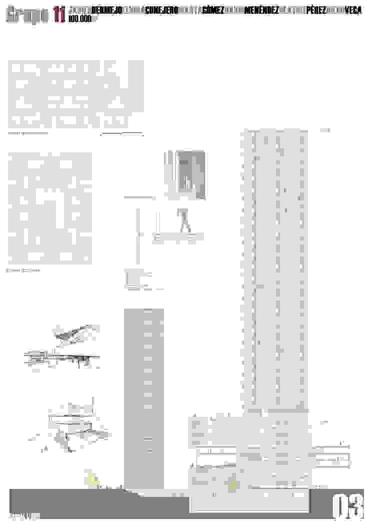 Lámina 3 Casas de estilo moderno de David Menéndez Ferreras Moderno