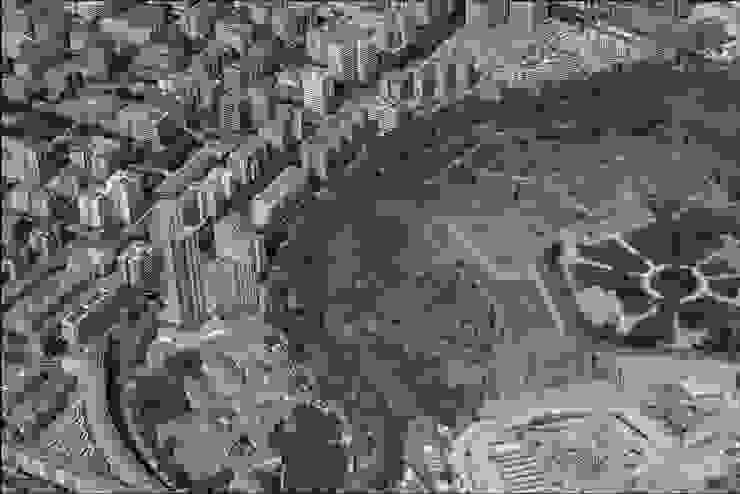 Axonométrico situación Casas de estilo moderno de David Menéndez Ferreras Moderno