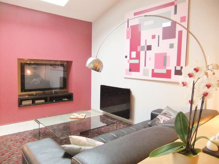 Salon Salon moderne par HOME feeling Moderne