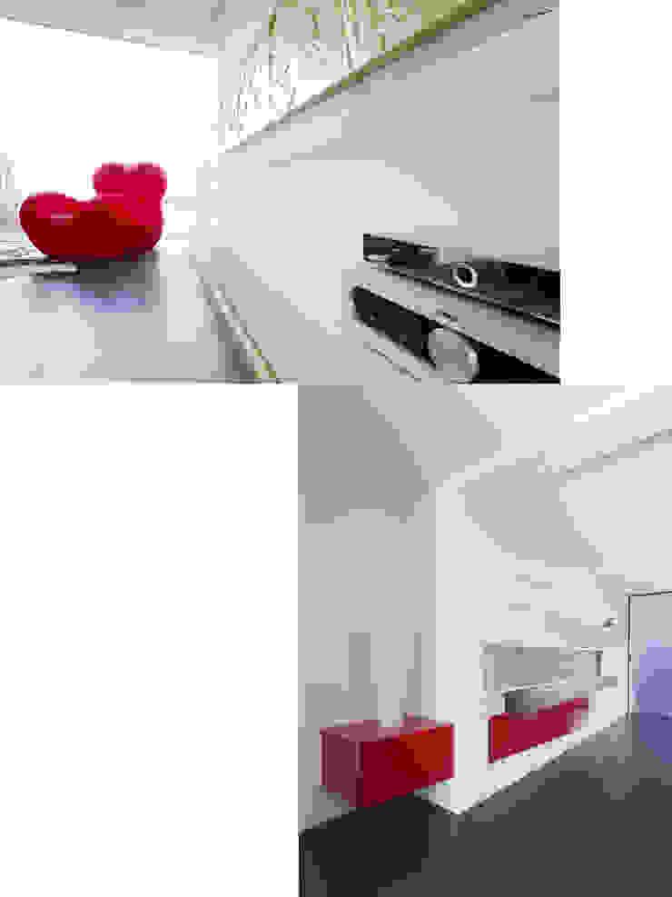 Atelier-Wohnung Moderne Wohnzimmer von Lehmann Art Deco Architekt Modern