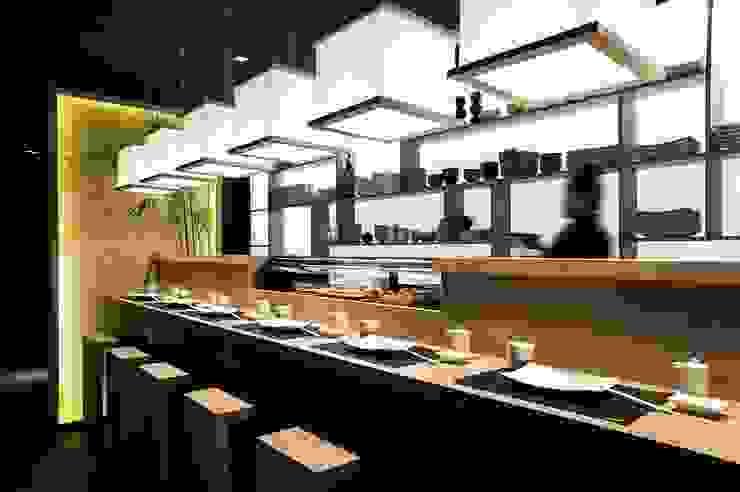 JAPIT - Sushi Bar di Ernesto Fusco Minimalista Lino Rosa