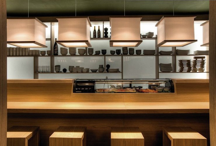 JAPIT - Sushi Bar di Ernesto Fusco Minimalista Legno Effetto legno