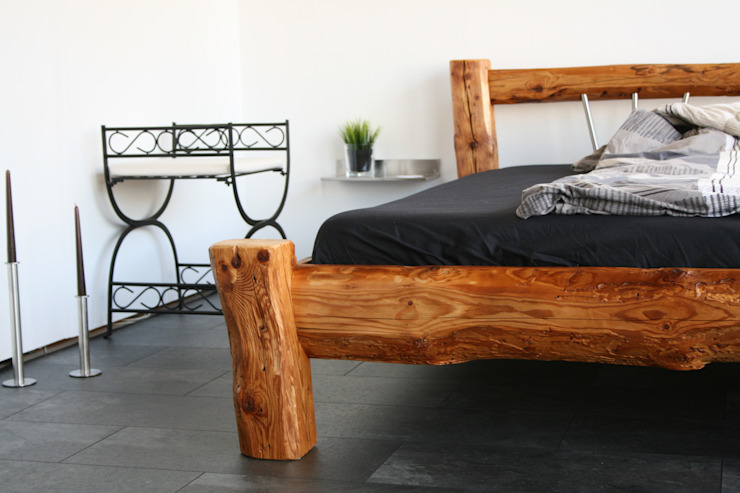woodesign Christoph Weißer BedroomBeds & headboards