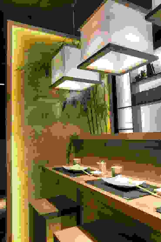 Ernesto Fusco Tiendas y espacios comerciales Bambú Acabado en madera
