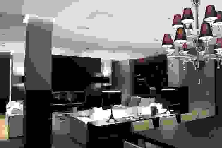 AEX home Soggiorno moderno di Ernesto Fusco Moderno Legno Effetto legno
