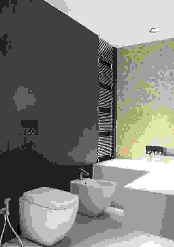 Baños de estilo moderno de Ernesto Fusco Moderno Cuarzo
