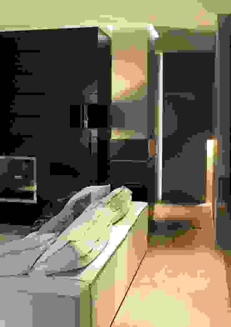 AEX home Soggiorno minimalista di Ernesto Fusco Minimalista Legno Effetto legno