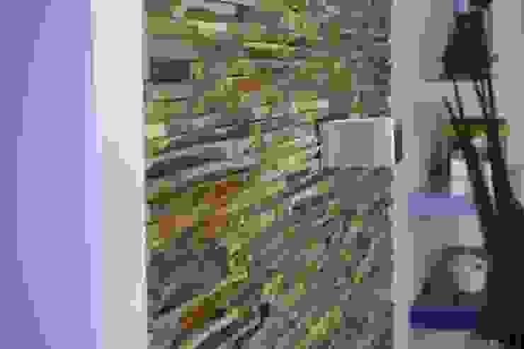 Wandverkleidung aus Holz Moderne Wohnzimmer von BS - Holzdesign Modern